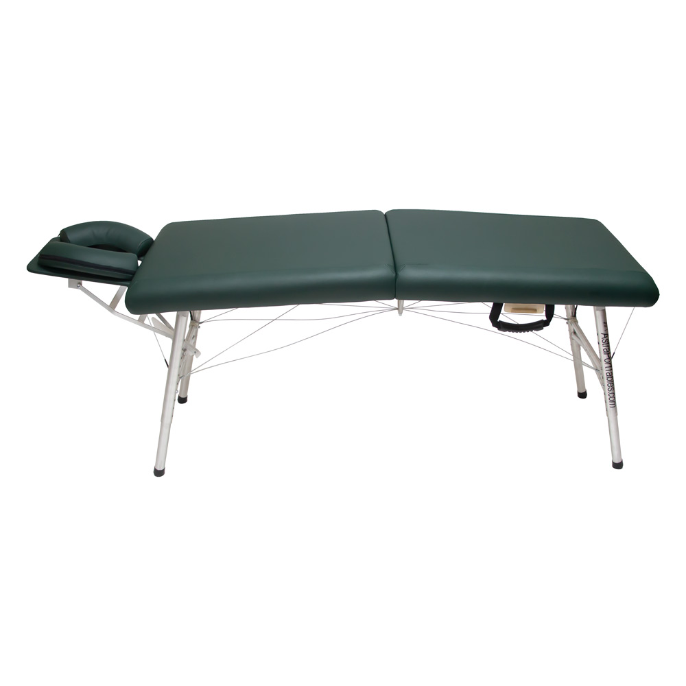 lightweight portable chiropractic table chiroport elite 20 hunter side view