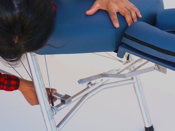 lightweight portable chiropractic table chiroport elite lock rod instructions